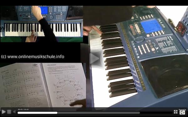keyboard spielen lernen onlinemusikschule 3