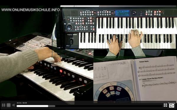 keyboard spielen lernen onlinemusikschule 8