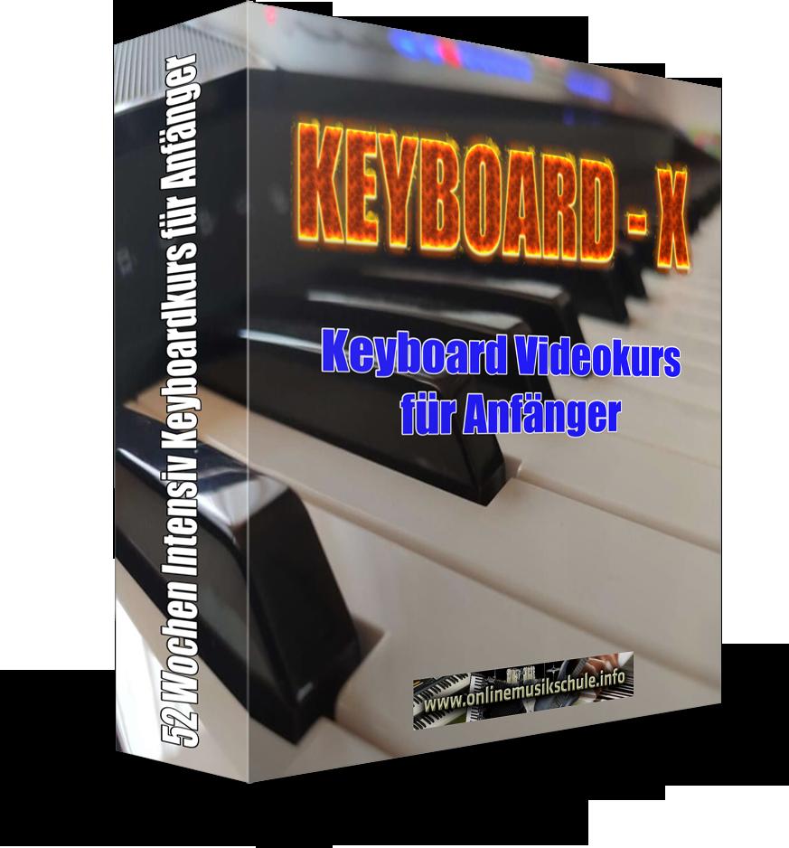 Keyboard-X Kurs für Anfänger Onlinemusikschule